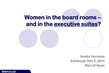 Women's Quotas and The Norwegian Experience – meeting notes