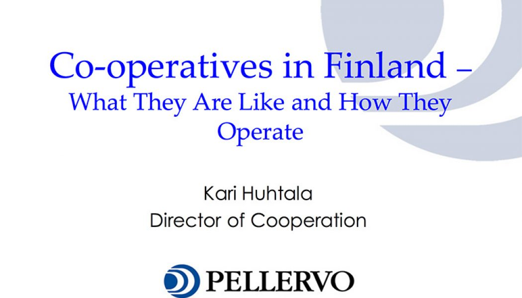 Finnish Co-operatives